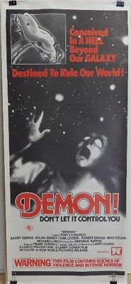 DEMON (Original Australian Daybill 1976)