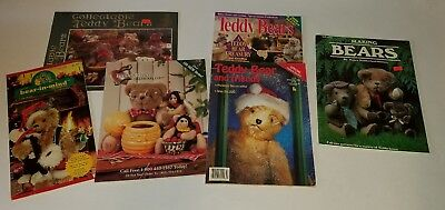Vtg Teddy Bear Magazines Catalogs Patterns Collectable Lot