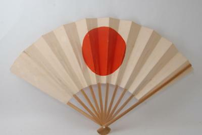 Excellent! Japanese WW2 Army/Navy Folding Fan #a6122