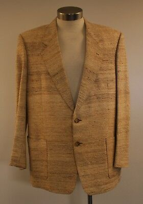 Lage, Raw Silk, Tailor Made, Original Vintage, Evening Jacket