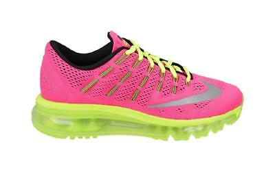 JUNIORS filles Nike Air Max 2016 GS rose basket course 807237 600