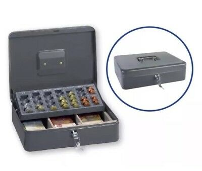 Ordex Cash Box - Secure box -Till Ideal for Market Traders  -Includes 2 keys.