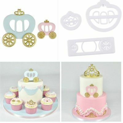 3Pcs Bow Bowknot Ice Cake Decorating Cookie Cutter Fondant Mold DIY Mould BL