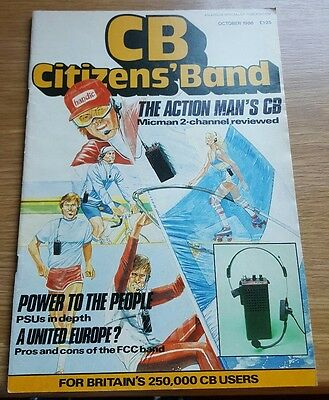 Cb Citizens Band October 1986