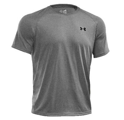 Under Armour 1228539 Men's Heather Gray Tech Short Sleeve T-Shirt - Size Large