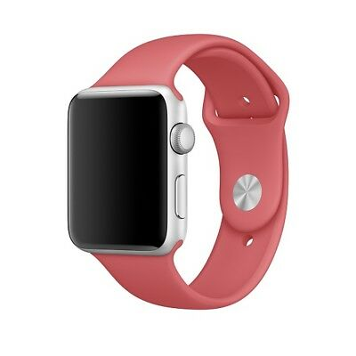 Original Apple Watch Sport Silicone Band 38mm (S/M, Camellia) (NEW, NO box)