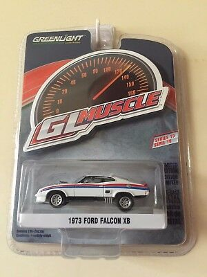 Greenlight 1973 XB Ford Falcon XB GL Muscle White with Monza front (Mad Max)