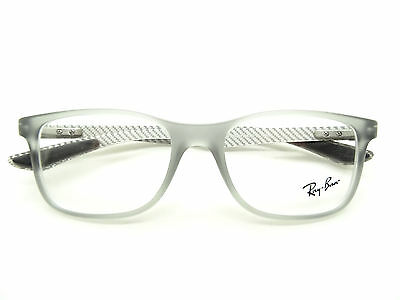 Ray Ban RB 8903 5244 Matte Transparent Grey Glasses,Spectacles,GLASSES,FRAMES