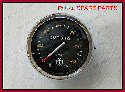 New Vespa Speedometer With Indicator 120Km/h old