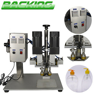 Bottle Capping Machine Chemical Cap Tightener Screwing Sealer Desk duck mouth