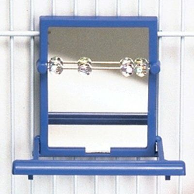 Landing Perch with Mirror & Beads by Penn-Plax