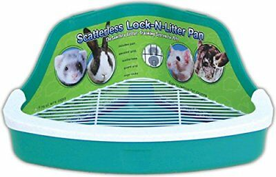 Ware Manufacturing Plastic Scatterless Lock-N-Litter Small Pet Pan