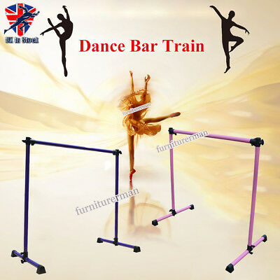 4ft Adjustable Single Ballet Barre Bar Dancing Exercise Dance Training Portable