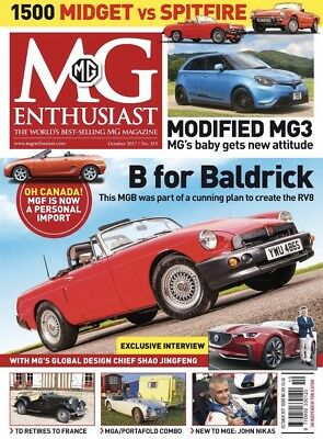 Mg Enthusiast Magazine October 2017 (Brand New Back Issue)