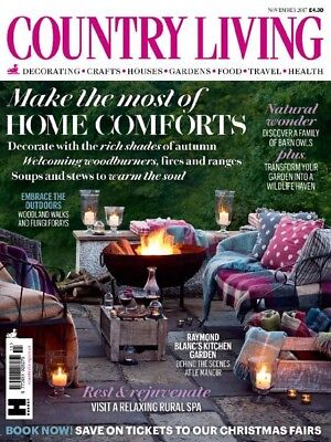 Country Living Magazine November 2017 (Brand New Issue)