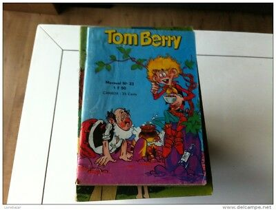 TOM BERRY   petit format   N° 22   - 1973 -
