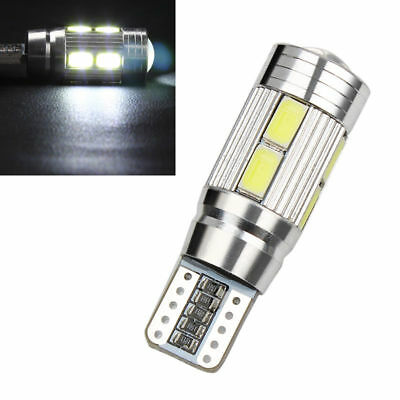 T10 194 W5W Canbus LED  5630 10 SMD Car Side White Light Bulb Auto parking Lamp