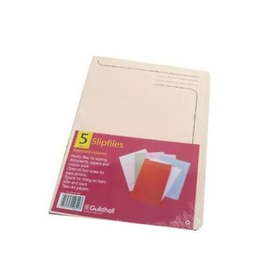 Guildhall Slipfile Assorted (Pack of 50) 4600Z, 315 x 230mm [GH14600]