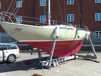 Marieholm International Folk Boat, Excellent condition, low reserve must sell
