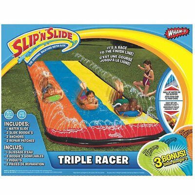 Slip N Slide Triple Racer with Slide Boogies