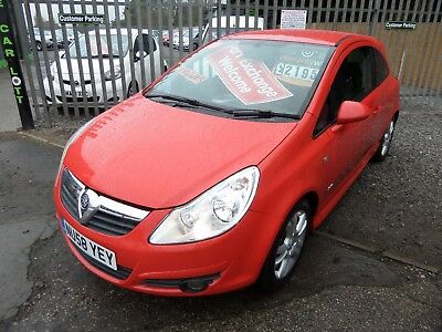 2008 VAUXHALL CORSA 1.4 SXi,LOW INSURANCE,P/STEERING,ALLOYS,CD,SPORTY HATCH