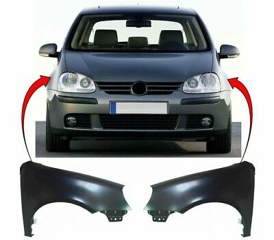 Vw Golf Mk5 2004-2008 Front Wing Primed Pair Left & Right New High Quality
