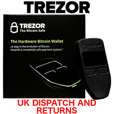 TREZOR Bitcoin wallet- Secure bitcoin storage- UK Distributor