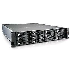 "155825 Qnap Tvs-1271U-Rp-I3 Nas Chassis Rack 12 Bay Hdd Sata Formato 3.5"" 4 Port"