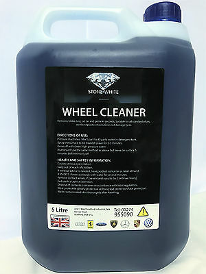 STONE WHITE FALLOUT REMOVER, IRON OUT WHEEL CLEANER 5L A**** Deep Clean