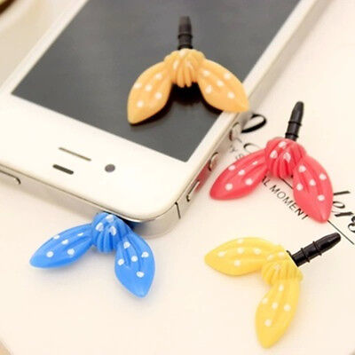 Colorful Rabbit Ear Earphone Limited Dust Plug Universal for iphone 5 5s 6 6s