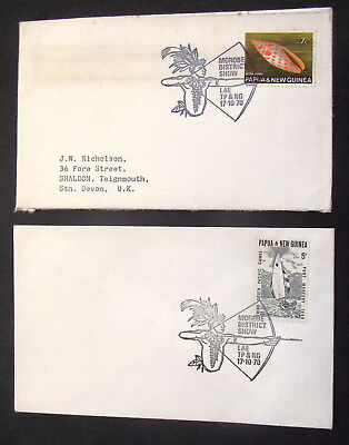 Papua New Guinea - 1970 Morobe District Show   - Covers