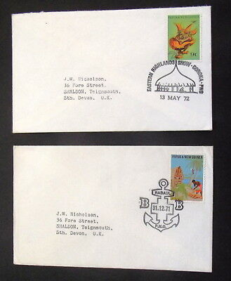 Papua New Guinea - 1972  Eastern  Highlands Show 1971 Rabaul   - Covers