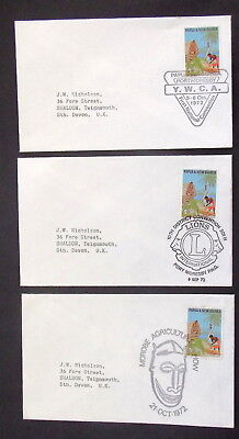 Papua New Guinea - 1972  Ywca ,lions , Morobe Arg Show  - Covers