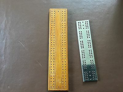 2 Cribbage pegboards excellent condition
