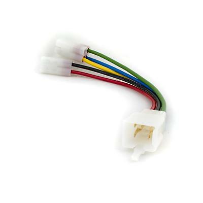 GY6 CDI Adapter Cable Scooter Quad 6 Pin Square Round Connector Convertor ECU