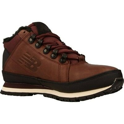 New Balance 754 Men's Winter Boots Hiking Shoes Leather Burgundy HL754BB