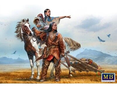 Master Box 35189 Indian Wars Series. On the Great Plains scala 1/35