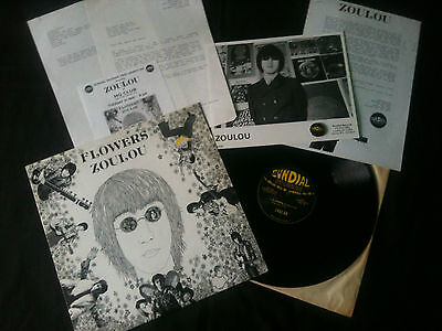 """Zoulou - Flowers 12"""" UK 1994 VG+/VG+  # Psych"""