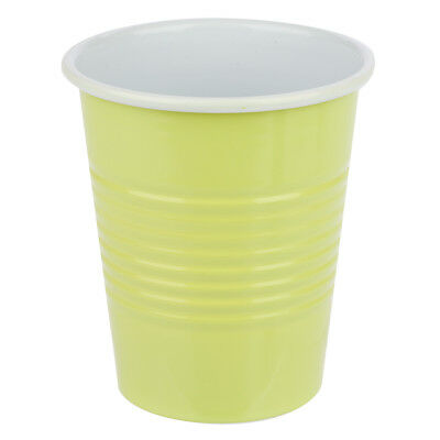 NEW Retro Kitchen Summer Sunny Lime Enamel Cup