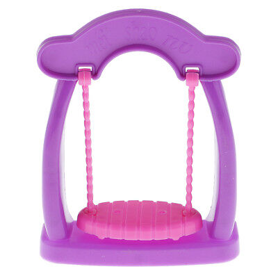 Fairy Swing for Barbie Kelly Play Doll House Toy Garden Playground Furniture