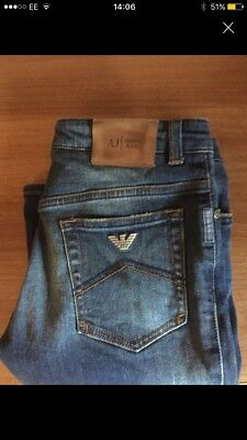 boys armani jeans size 12 years