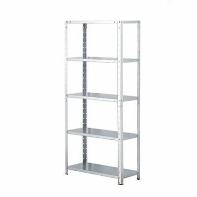 Storage Solutions Light Duty Bolted 5-Shelf Unit Galvanised [STS56015]