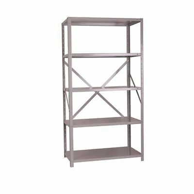 Storage Solutions Heavy Duty Bolted 5-Shelf Unit D500mm Grey [STS56031]