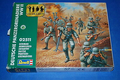 Revell 02511 - WWII German Armoured Infantry  scala 1/72