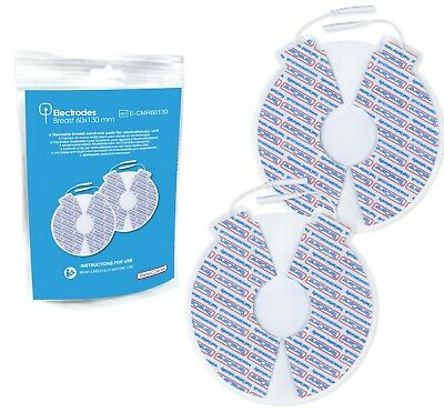 4 Superior Reusable Breast Electrode Pads for Lactation or Toning - TensCare