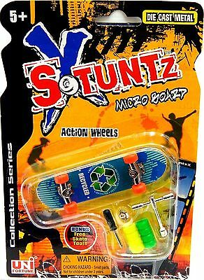 Finger Skate Board Toy Action Interchangeable Wheels XSTUNTS TOYS Christmas Gift