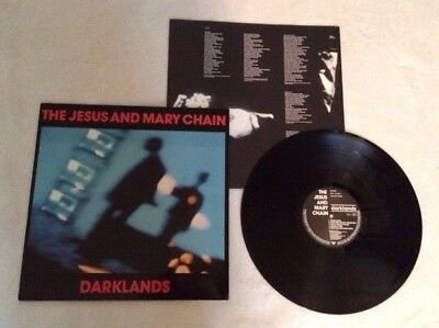 The Jesus And Mary Chain 1St Press 1987 Vinyl Lp Blanco Y Negro Indie Great Copy