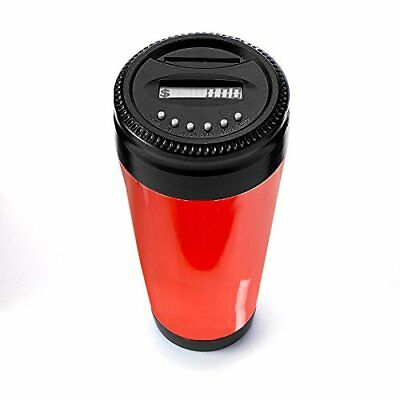Change Counter Coin Bank for Car Cup Holders – Automatically Totals the Value...