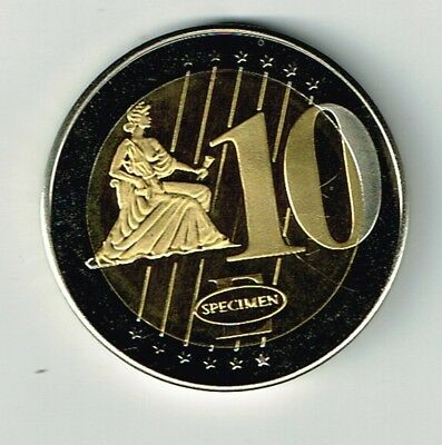 Slovenian Trial ten Euro