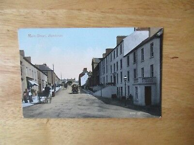 vintage postcard * Main Street, Bundoran Co. Donegal * unposted early1900s